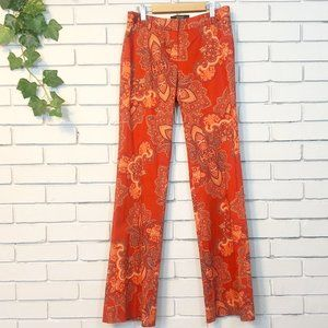 Body by Victoria Paisley Christy Boot Cut Pants